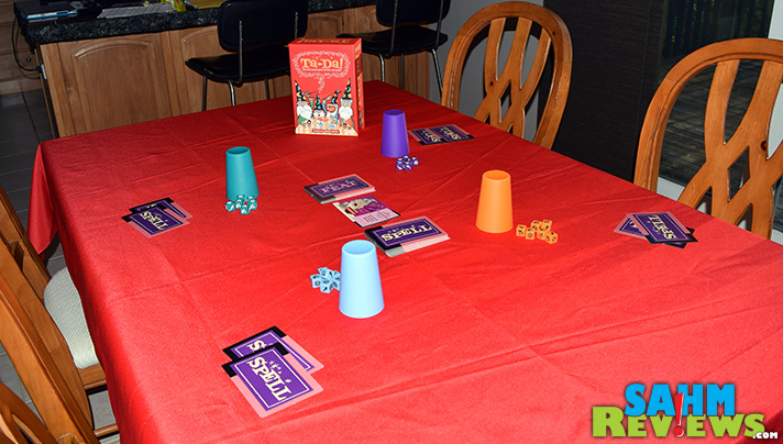 Ta-Da! dice game by Cool Mini or Not requires a bit of luck and some quick playing. - SahmReviews.com