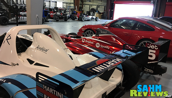 Several amazing performance racing vehicles were on hand at the Cars 3 media event at Sonoma Raceway. - SahmReviews.com #Cars3Event