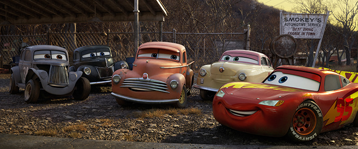 Pixar pays tribute to racing legends in Cars 3. - SahmReviews.com