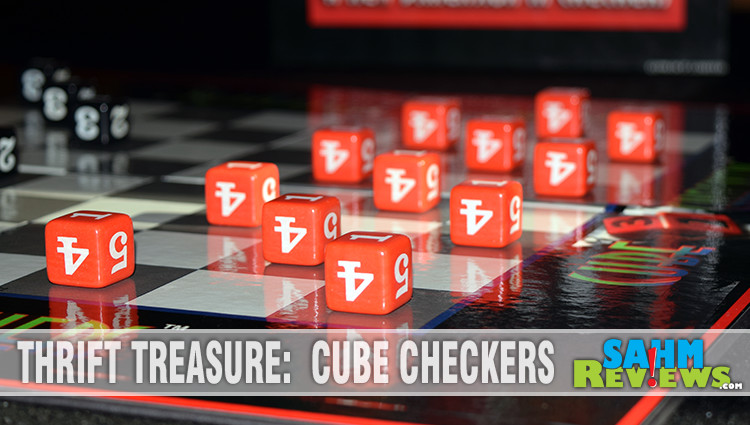 Thrift Treasure: Cube Checkers