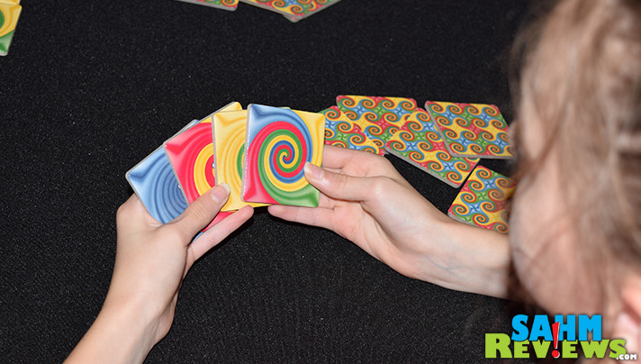 Advertised as A New Twist on Dominoes, would this week's Thrift Treasure live up to its claim? Find out what we thought of Mindware's Dizios! - SahmReviews.com
