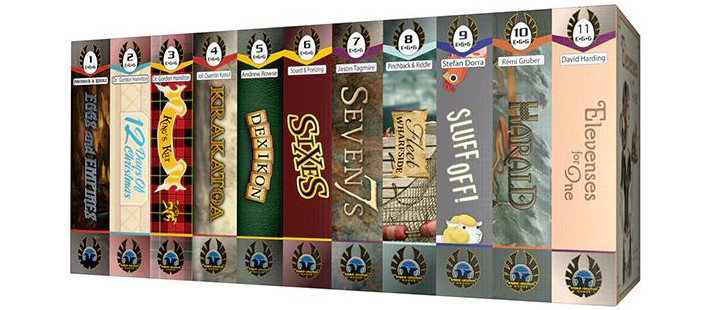 I've found a matching set of games that I must now collect. This is the first in the E•G•G Series - Eggs and Empires by Eagle-Gryphon Games. - SahmReviews.com