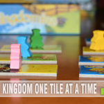 Today's feature is a brand new one from Blue Orange Games and was just selected as a nominee for this year's Spiel des Jahres award! Check out Kingdomino! - SahmReviews.com