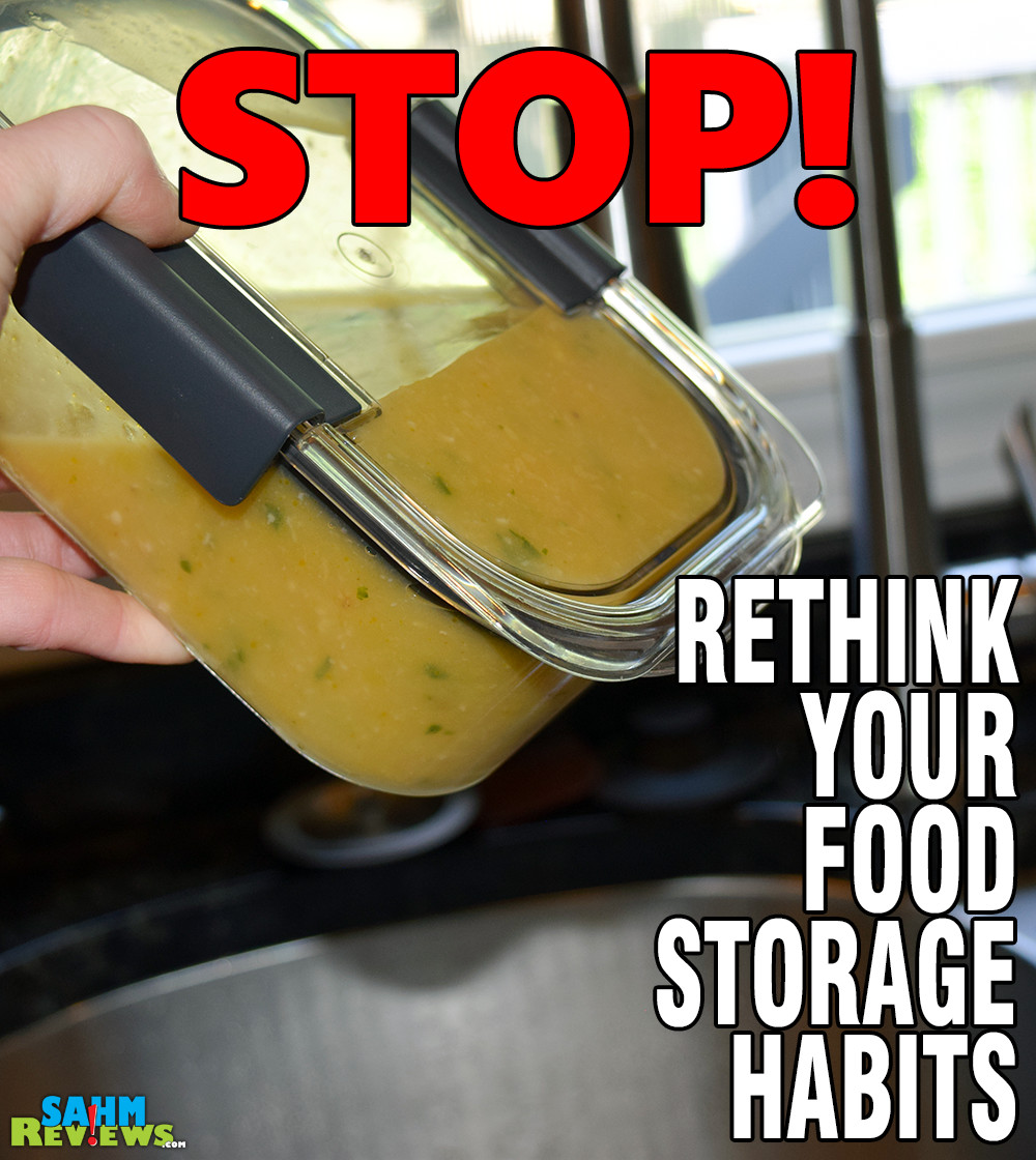 Do you put much thought into how you store your food? You should! - SahmReviews.com #StoredBrilliantly