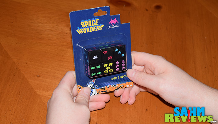 It may be a throwback to the 70's, but this dice game version of Space Invaders is true to the theme. Read more about Space Invaders Dice! - SahmReviews.com