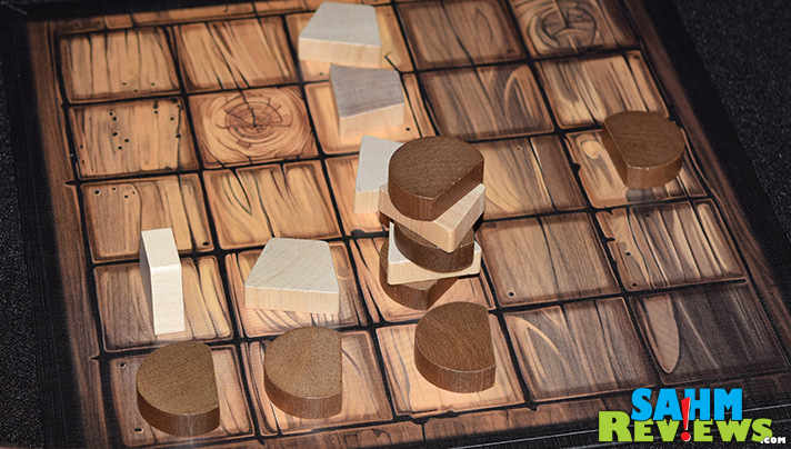 A brand new game to the abstract game works, Tak by Cheapass Games gives you the feeling it has been around for ages. Hard to believe it was born in 2016! - SahmReviews.com