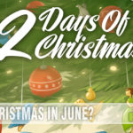 The second game in the E•G•G Series, 12 Days of Christmas by Eagle-Gryphon Games, is Christmas-themed. But it is a fun game all year long! - SahmReviews.com