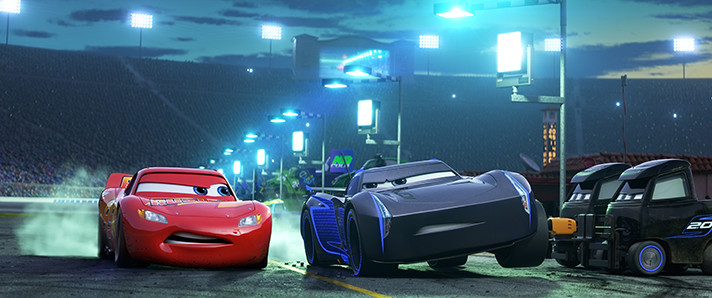 Cars 3 Director and Producers share thoughts on Jackson Storm. - SahmReviews.com #Cars3Event