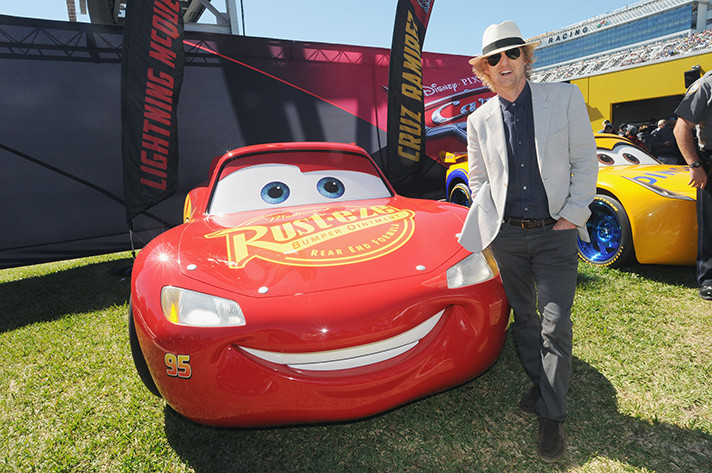 Owen Wilson as Lightning McQueen in Cars 3. - SahmReviews.com #Cars3Event