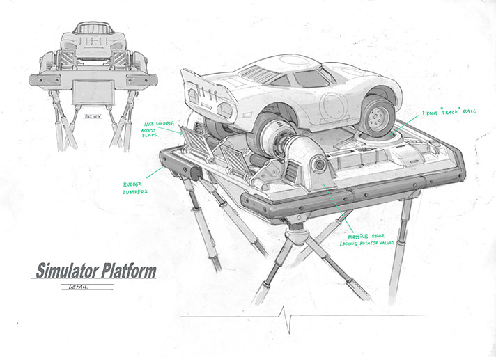 The Pixar technical teams behind Cars 3 provided details on the production pipeline from start to finish. - SahmReviews.com #Cars3Event