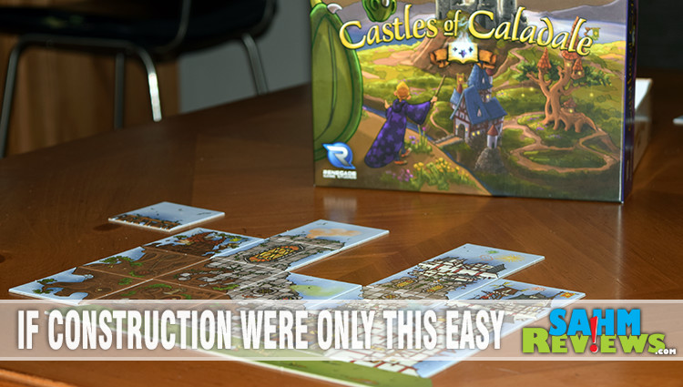 Castles of Caladale Board Game Overview