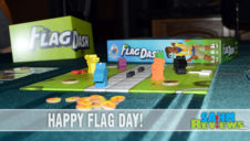 Flag Dash Board Game Overview