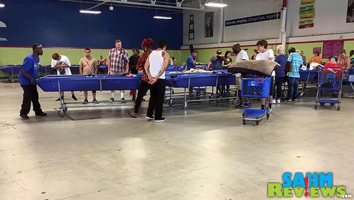 Learn what you can expect when you visit a Goodwill Outlet store, including what the rules for when new bins are brought in. - SahmReviews.com