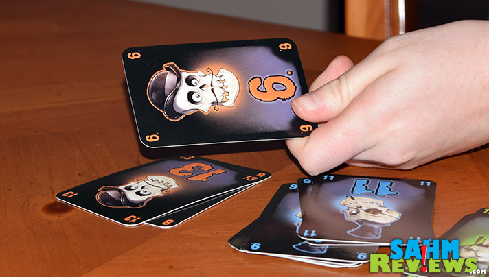 We're in a card game mood, but were looking for something that might make enemies of our opponents. Passport Game Studios' Nox seemed to fit the bill! - SahmReviews.com