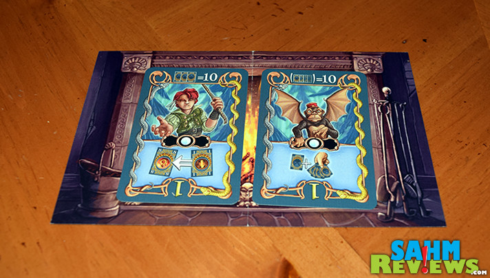 A bit different from their normal titles, Mayfair Games' Portal of Heroes is a fantasy card game for up to five players. Will it stay on our game shelf? - SahmReviews.com