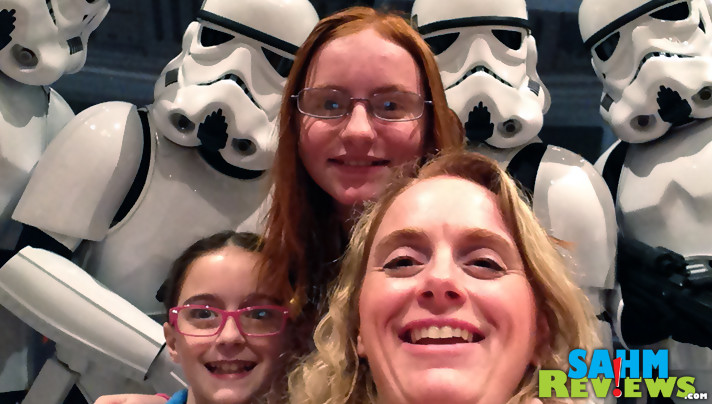 Selfie tip: Sometimes the imperfect photos make the best memories. - SahmReviews.com
