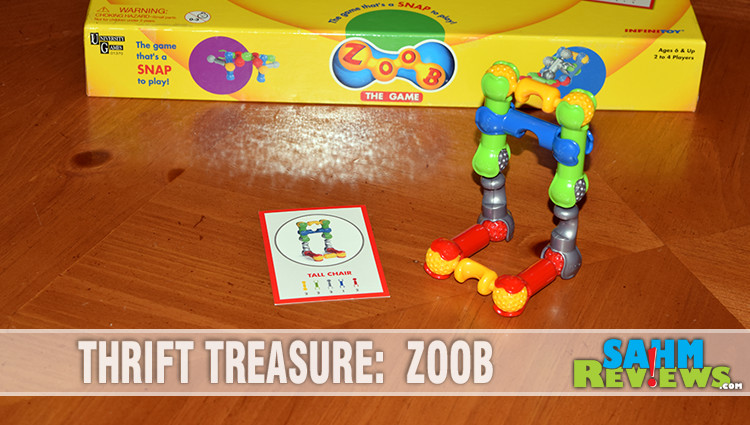 Thrift Treasure: ZOOB – The Game