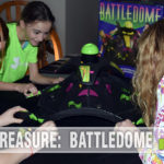 This wasn't one from our youth, but BattleDome by Parker Brothers is one we certainly would have asked Santa for! See it in action at SahmReviews.com!