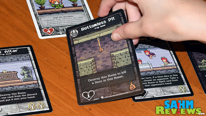 We're children of the 8-bit era of video games. Running across Brotherwise Games' Boss Monster meant it was a must-have in our board game collection. - SahmReviews.com