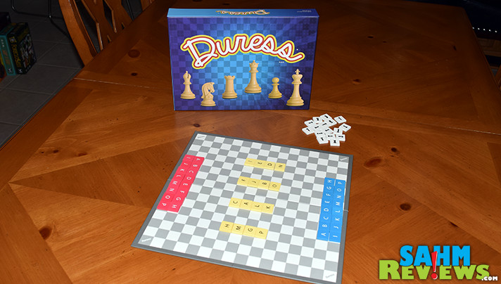 At first glance, Duress looks like some sort of variation on the game of Chess. Turns out the movement is the only thing it has in common with the classic. - SahmReviews.com