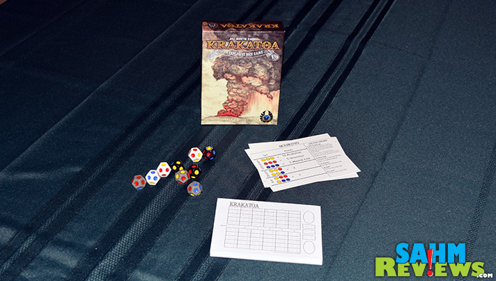 I've found a matching set of games that I must now collect. This is the fourth in the E•G•G Series - Krakatoa by Eagle-Gryphon Games. - SahmReviews.com