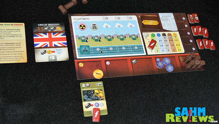 In Manhattan Project Energy Empire, players are striving to create energy while maintaining a clean environment. - SahmReviews.com