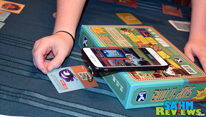 Shop 'n Time by Mercury Games is a shopping card game with a companion app. - SahmReviews.com
