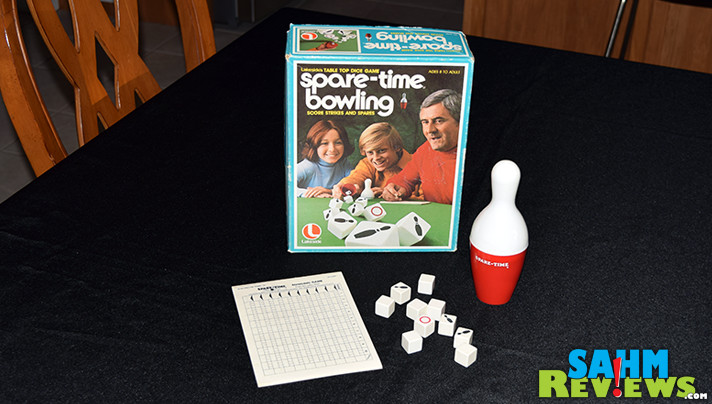 This week's Thrift Treasure was issued in 1977, but has been around since the early 1940's! See what we thought of Lakeside's Spare-Time Bowling! - SahmReviews.com