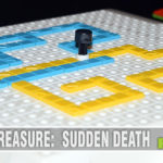 It's hard to say if the board game (Sudden Death) or the video game (Surround) came first. No matter, Sudden Death is this week's Thrift Treasure find! - SahmReviews.com