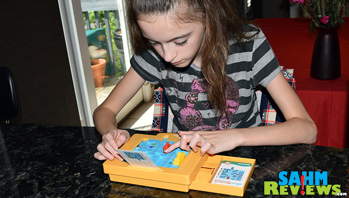 Wave Breaker from ThinkFun is a logic puzzle designed to accommodate a variety of abilities from beginner to expert. - SahmReviews.com