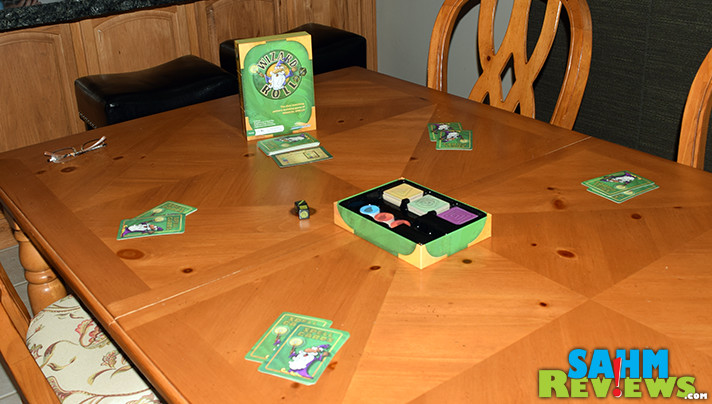 RoosterFin Games released Wizard Roll, a game that mixes matching with luck by using dice. - SahmReviews.com