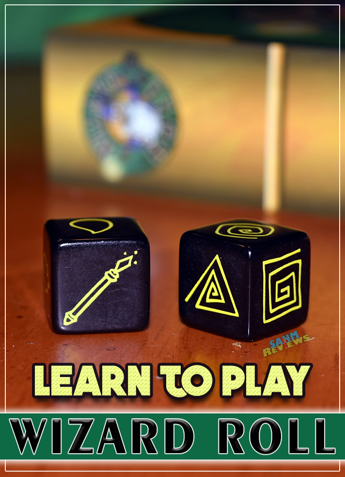 Learn to play Wizard Roll, a game that mixes matching with luck by using dice. - SahmReviews.com