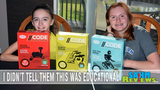 Back to School – CODE Programming Game Series