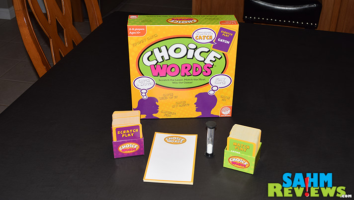 Word games can be unfair to those who don't have a strong vocabulary. Choice Words by Mindware solves that problem - find out what they did! - SahmReviews.com