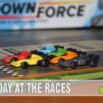 Downforce is the first issue from the newly-formed board game company, Restoration Games. A reissue of a 70's-90's classic, check out what they've changed! - SahmReviews.com