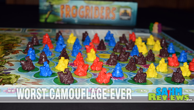 Frogriders Board Game Overview