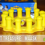 Another wooden game found at thrift this week! We take a look at Blue Orange Games' Maask. Turns out it is very similar to another one we found! - SahmReviews.com