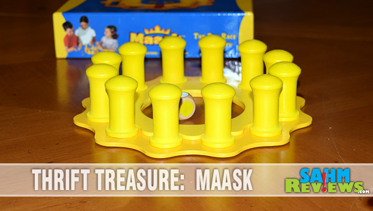 Thrift Treasure: Maask Board Game