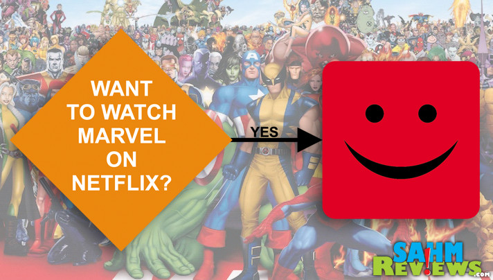 Do people really need to be persuaded to watch shows like Marvel on Netflix? We weigh in on why we think this concept is ridiculous. - SahmReviews.com