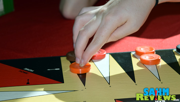 This week we came across Quadragammon, a 4-player version of Backgammon we didn't even know existed! Was it worth the $1.88 we paid at thrift? - SahmReviews.com