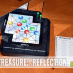This week's Thrift Treasure utilizes a mirror in the game play! Find out why and how it is implemented in the puzzle game of Reflection! - SahmReviews.com