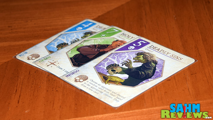 I've found a matching set of games that I must now collect. This is the seventh in the E•G•G Series - Seven7s by Eagle-Gryphon Games. - SahmReviews.com