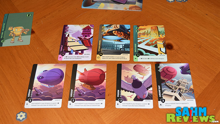 We may not ever get to live in a city in the sky, but Passport Game Studios' latest release, Skyward, brings us as close to it as we'll ever get! - SahmReviews.com