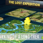 Our favorite type of game - cooperative! This time we're looking at Osprey Games' The Lost Expedition and trying to find our way back to civilization! - SahmReviews.com