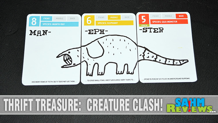 Thrift Treasure: Creature Clash! Card Game