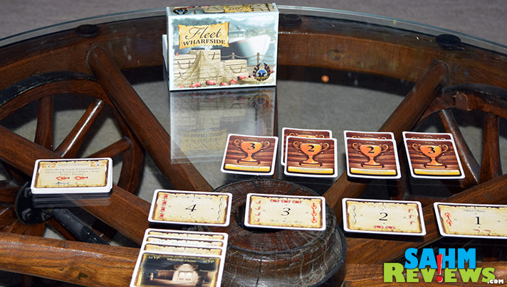 I've found a matching set of games that I must now collect. This is the eighth in the E•G•G Series - Fleet Wharfside by Eagle-Gryphon Games. - SahmReviews.com