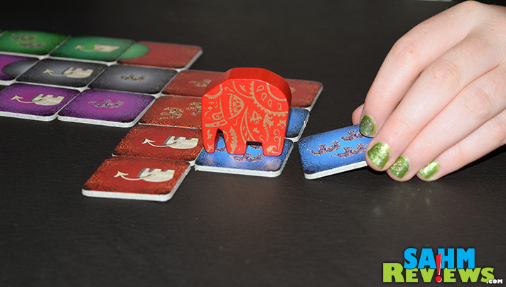Celebrate the beauty of elephants with Kerala game from Kosmos. The abstract strategy game is quick to play and ideal for all ages. - SahmReviews.com