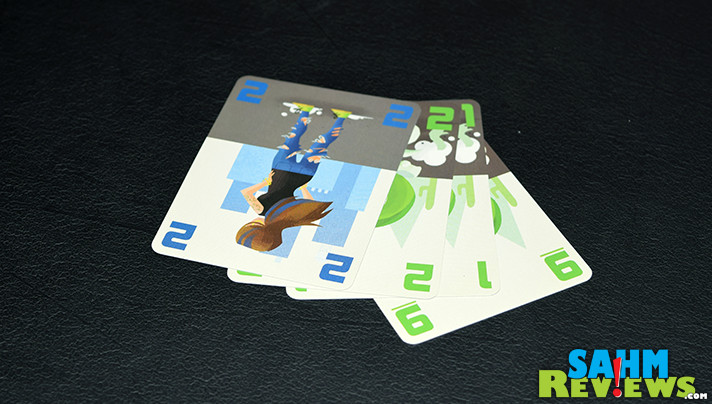 I've found a matching set of games that I must now collect. This is the ninth in the E•G•G Series - Sluff Off! by Eagle-Gryphon Games. - SahmReviews.com