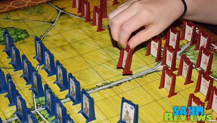 Stratego was my childhood favorite game, bar none. Finding out there were new versions, some supporting four players, was the best news of the year! - SahmReviews.com