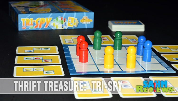 Thrift Treasure: Tri-Spy Board Game